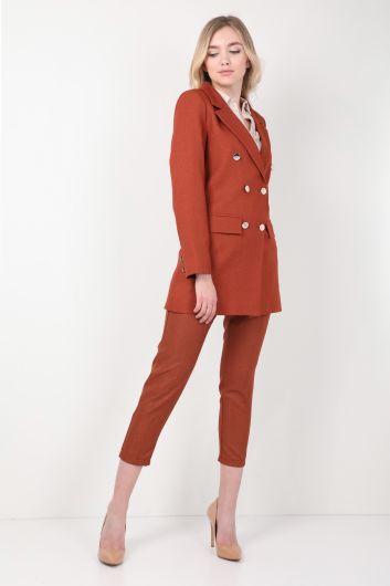 MARKAPIA WOMAN - Kadın Tarçın Blazer Takım (1)