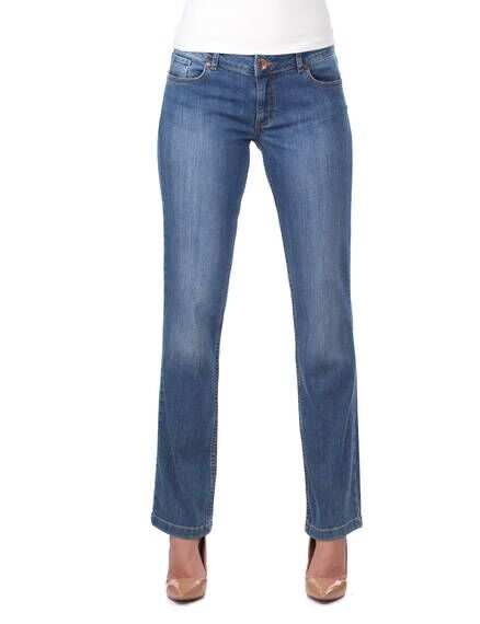 Kadın Uzun Battal Jean Pantolon