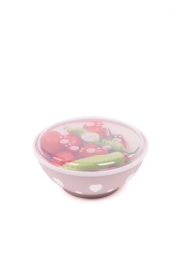 MARKAPIA HOME - Heart Round Bowl 3 Lt with Lid (1)