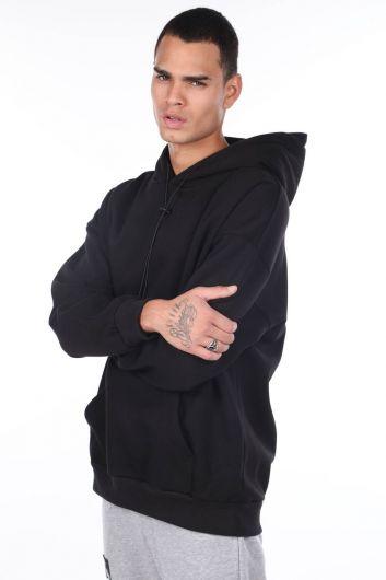 MARKAPIA MAN - Kanguru Cepli Kapüşonlu Erkek Sweatshirt (1)