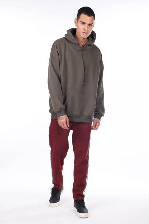 Kanguru Cepli Kapüşonlu Sweatshirt