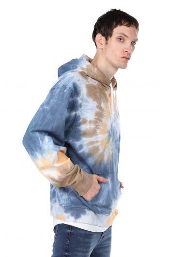 MARKAPIA MAN - Kapüşonlu Batik Oversize Erkek Sweatshirt (1)
