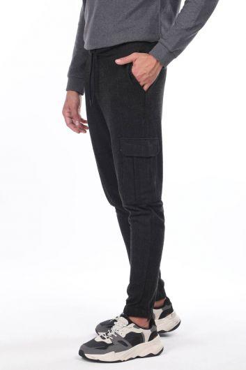 MARKAPIA MAN - بدلة رياضية كارغو جيب منقوشة (1)
