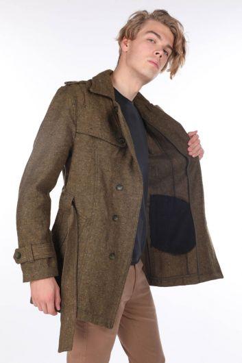 MARKAPIA MAN - Kırçıllı Cep Detaylı Erkek Ceket (1)