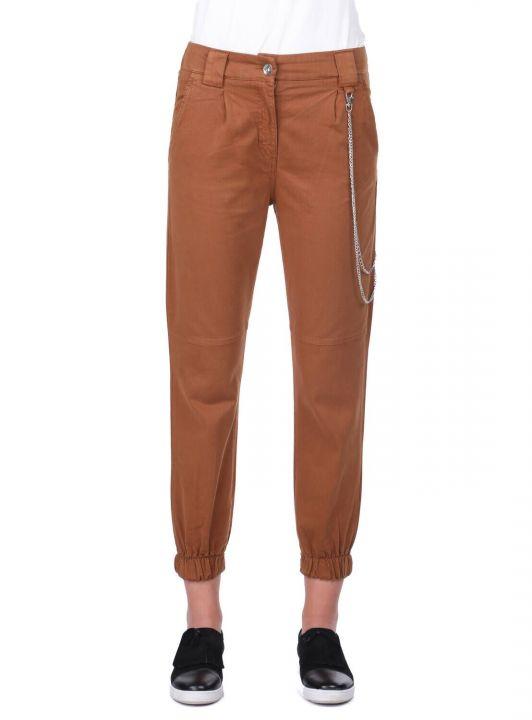 Женские эластичные джинсовые брюки для бега трусцой