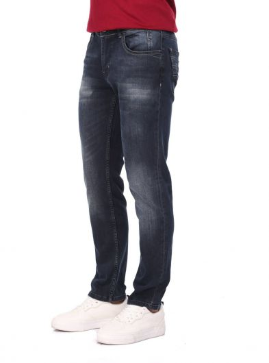 LAST PLAYER - Last Player Men's Indigo Jeans (1)