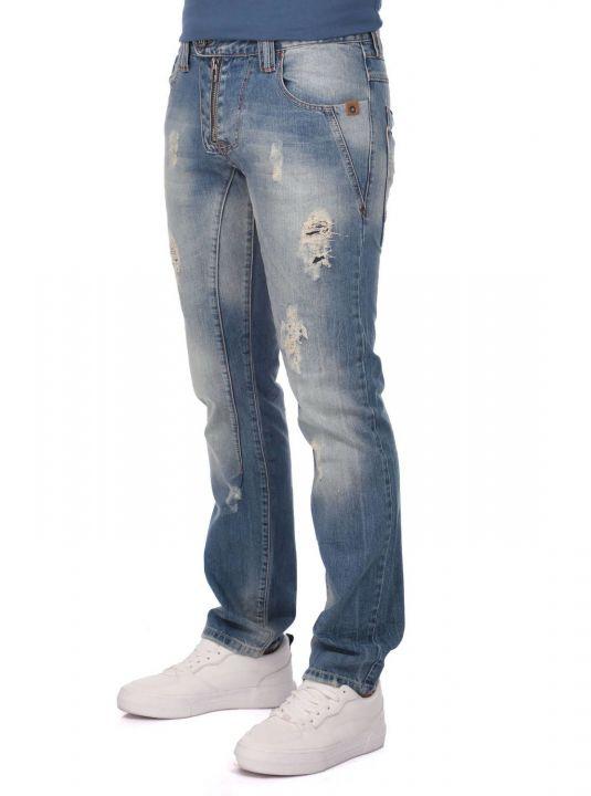Мужские джинсы с детализированной отделкой Last Player