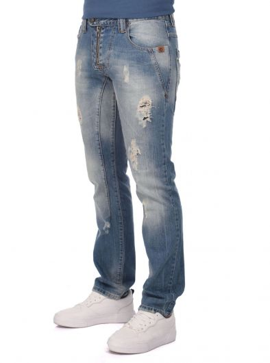 LAST PLAYER - Last Player Men's Detailed Jeans (1)