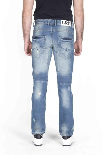 LAST PLAYER - Last Player Men's Denim Trousers (1)