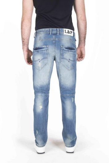 Last Player Men's Denim Trousers - Thumbnail