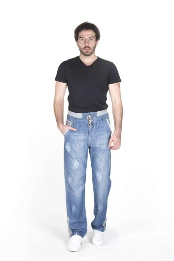 LAST PLAYER - Last Player Men's Garnish Jeans (1)