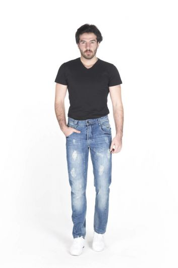 LAST PLAYER - Last Player Men's Jean Trousers (1)