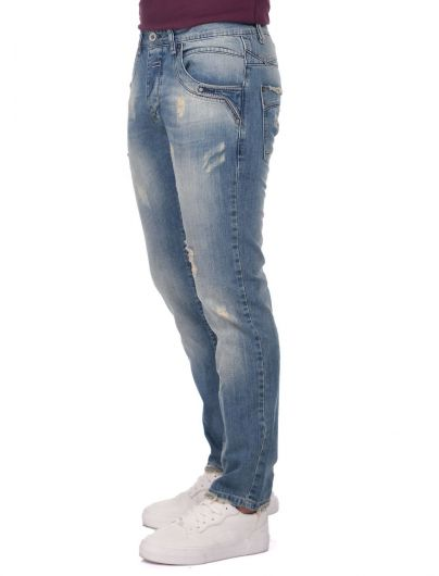 LAST PLAYER - Last Player Men's Low Rise Jeans (1)