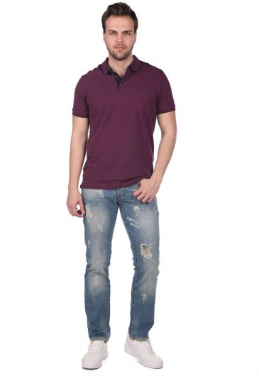 Last Player Men's Low Rise Jeans - Thumbnail