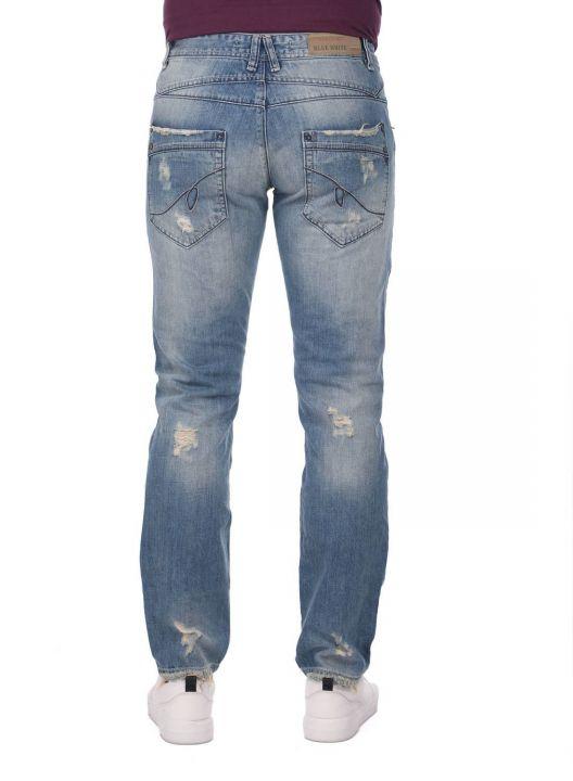 Last Player Men's Low Rise Jeans