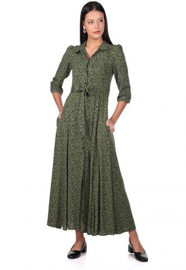 MARKAPİA WOMAN - فستان بنقشة جلد الفهد (1)