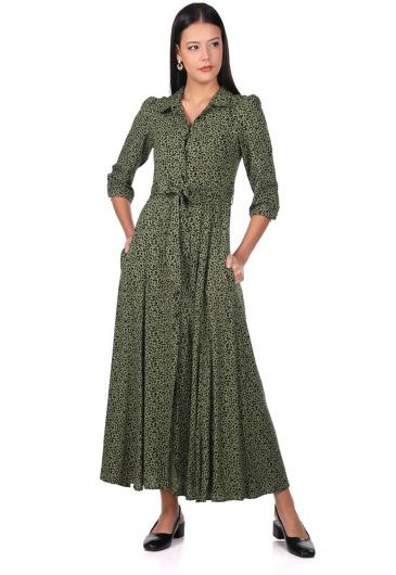 MARKAPİA WOMAN - Платье с леопардовым узором (1)