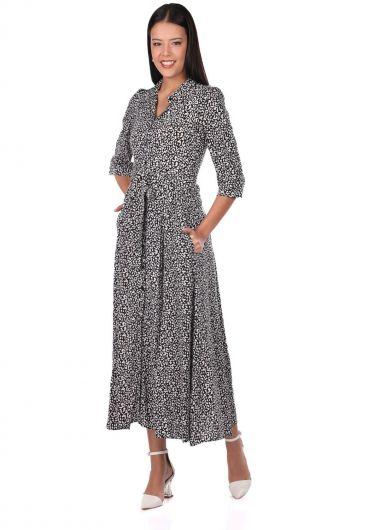 فستان بنقشة جلد الفهد - Thumbnail