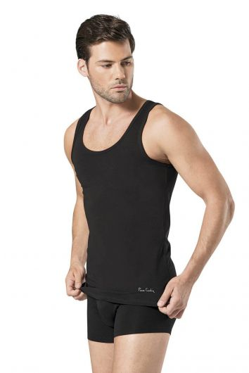 Pierre Cardin - Pierre Cardin Men's Stretch Undershirt (1)