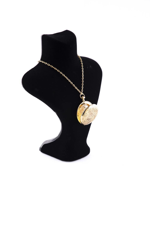 Markapia Altın Kaplama Madalyon Kolye