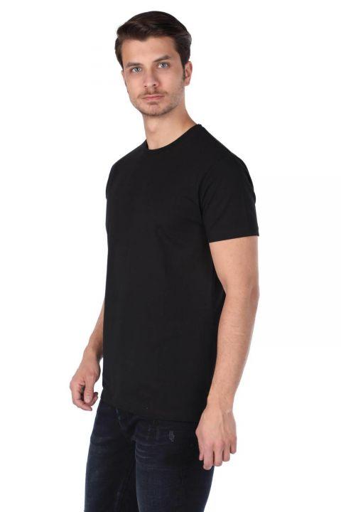 Markapia Basic Bisiklet Yaka T-Shirt