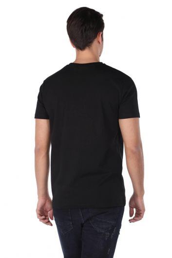 Базовая футболка Markapia с круглым вырезом - Thumbnail