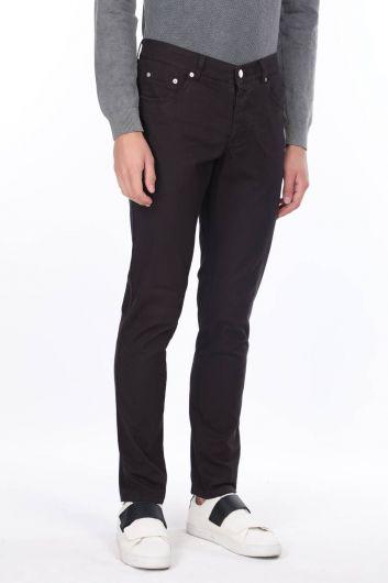 MARKAPIA MAN - Черные мужские брюки чинос Markapia (1)