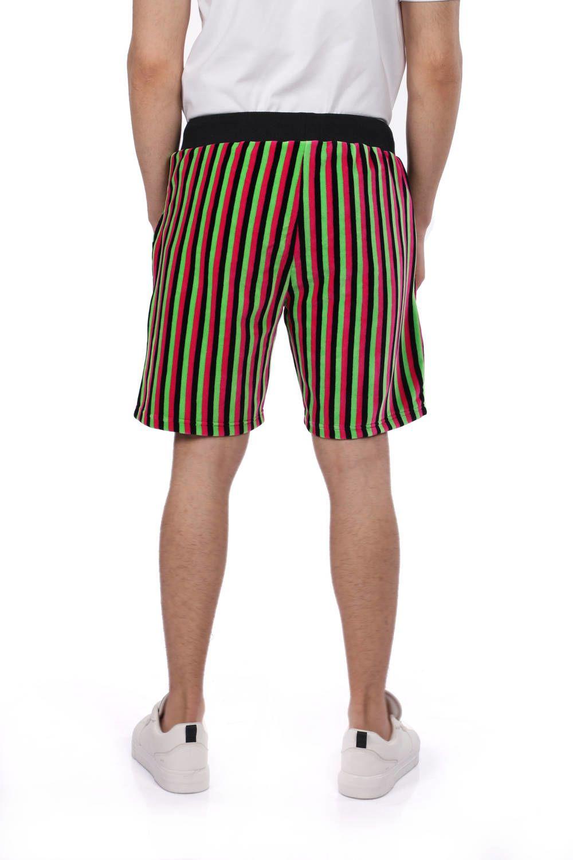 Мужские шорты в черную полоску Markapia