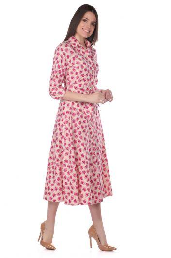 MARKAPIA WOMAN - Markapia Çiçek Desenli Gömlek Elbise (1)