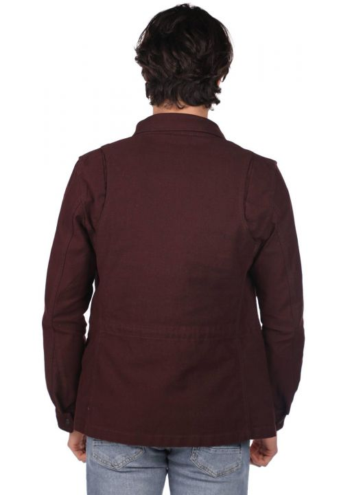 Markapia Men's Jean Jacket
