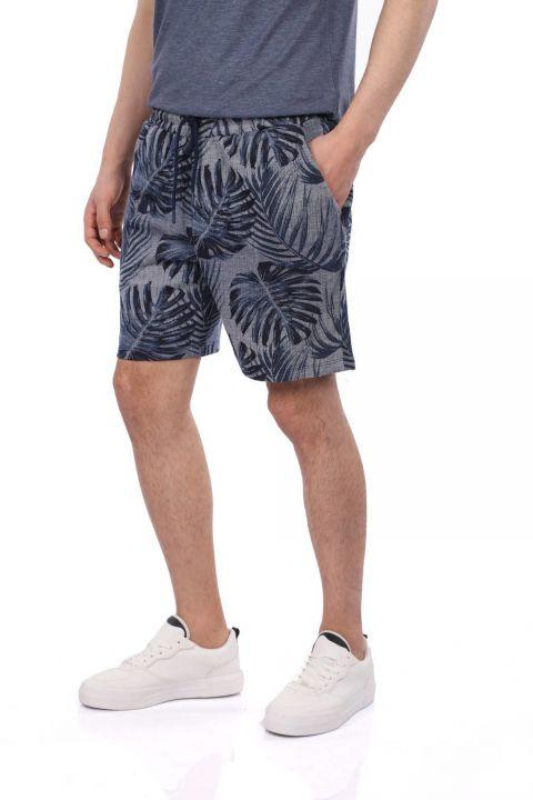 Markapia Floral Pattern Men's Shorts