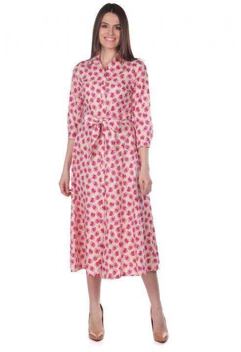 Платье-рубашка Markapia с цветочным узором