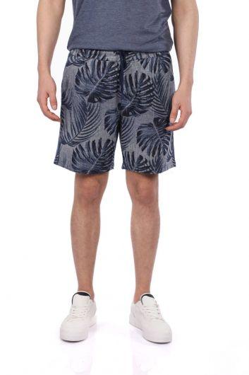 Markapia Floral Print Shorts - Thumbnail