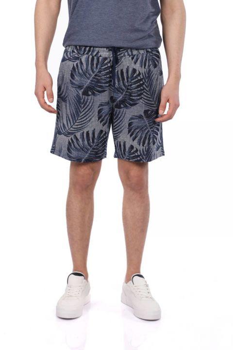 Markapia Floral Print Shorts