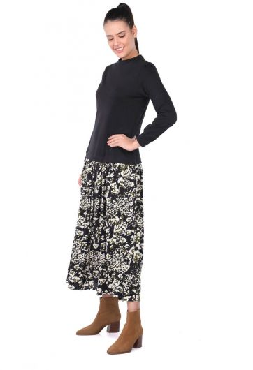 MARKAPIA WOMAN - Платье с рисунком «Маркапия» с гарниром (1)