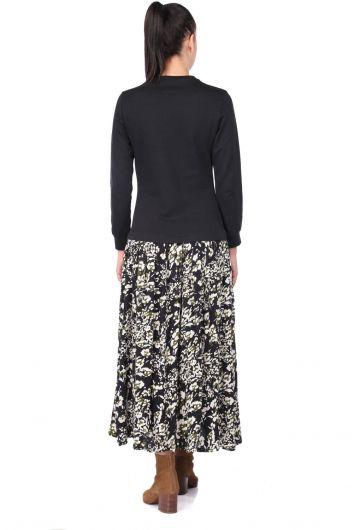 فستان منقوش ماركابيا - Thumbnail