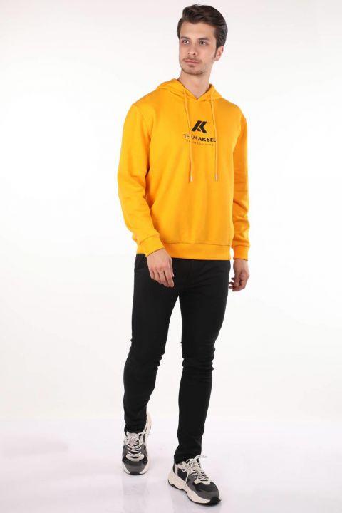 Markapia Men's Hooded Sweatshirt