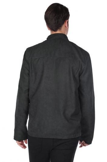 Куртка мужская трикотажная Markapia - Thumbnail