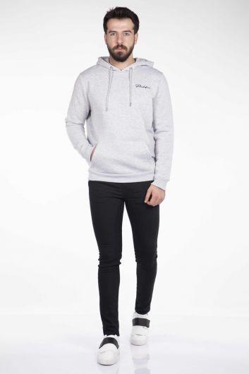 MARKAPIA MAN - Markapia Kanguru Cepli Kapüşonlu Sweatshirt (1)