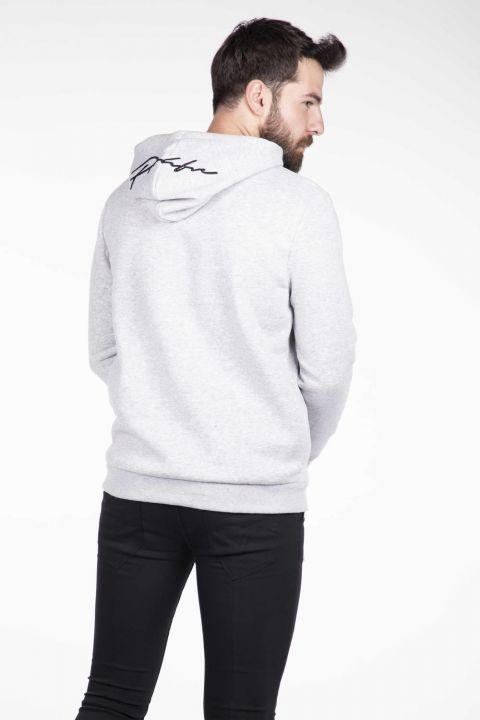 Markapia Kanguru Cepli Kapüşonlu Sweatshirt