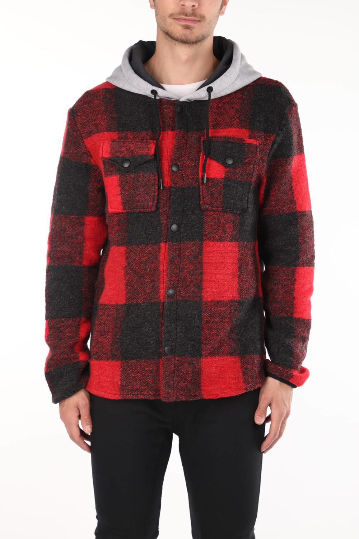 Markapia Kapüşonlu Gömlek Ceket