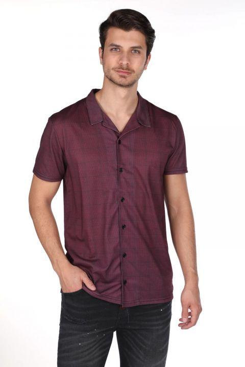Markapia Kısa Kollu Erkek Gömlek