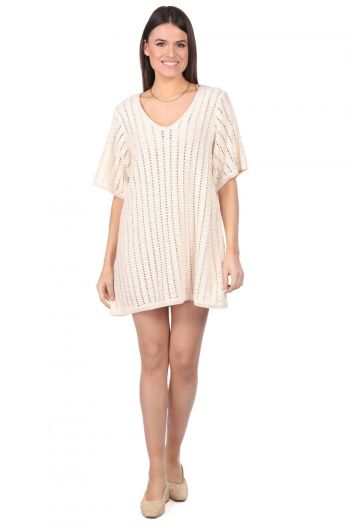Markapia Knitwear Dress - Thumbnail