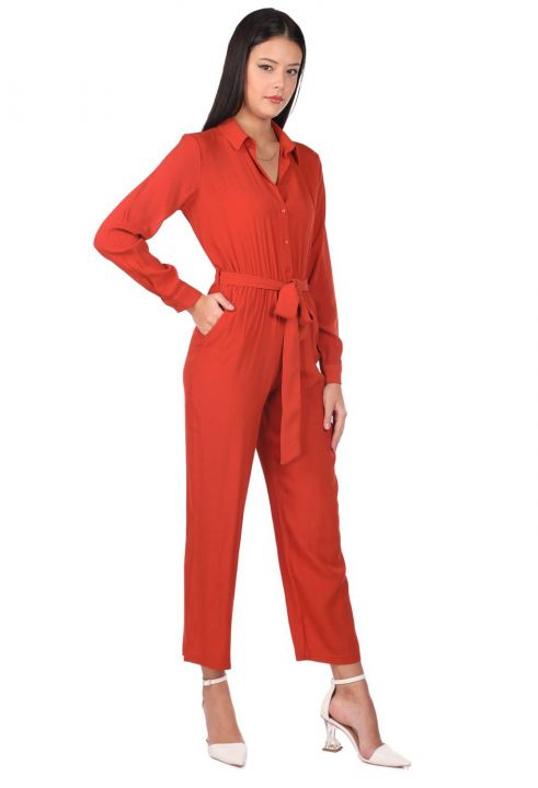 Markapia Long Sleeve Overalls Trousers