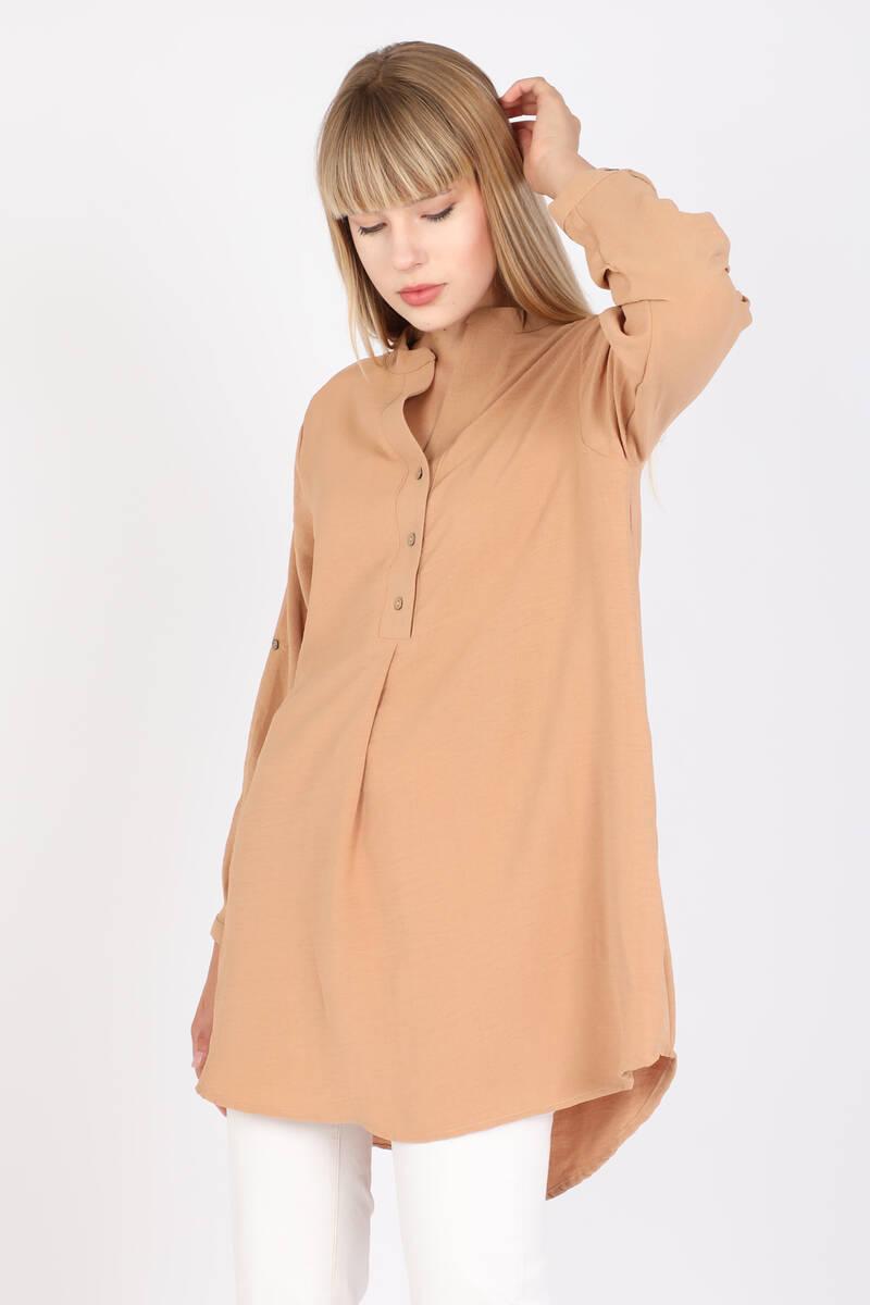 Женская блузка Markapia Oversize с детализированными пуговицами