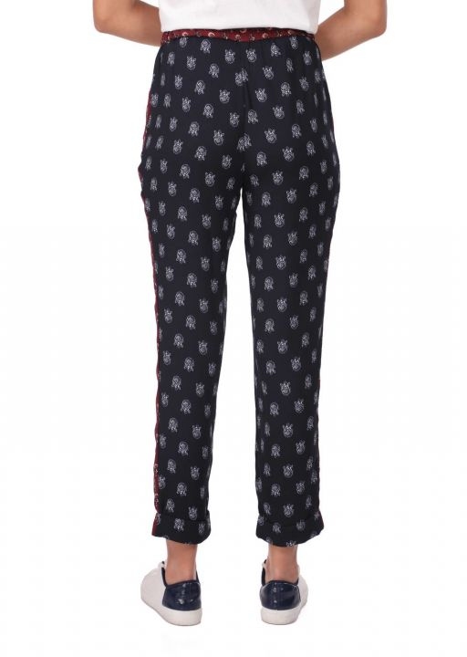 Markapia Patterned Trousers