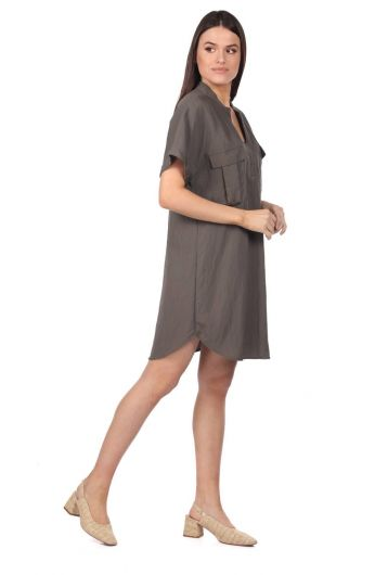 MARKAPİA WOMAN - Markapia Pocket Detailed Tunic (1)