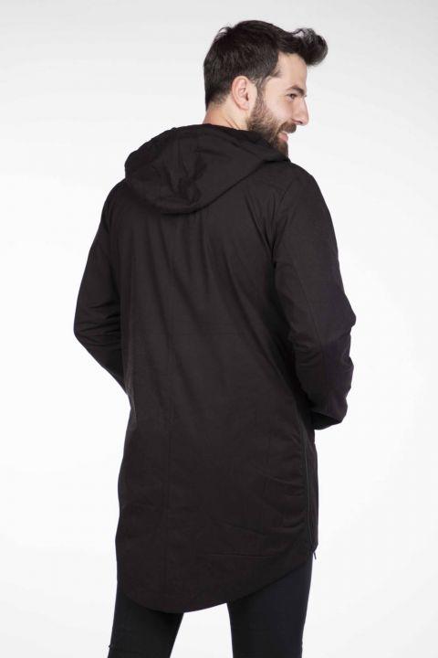 Мужская прямая куртка с капюшоном Markapia