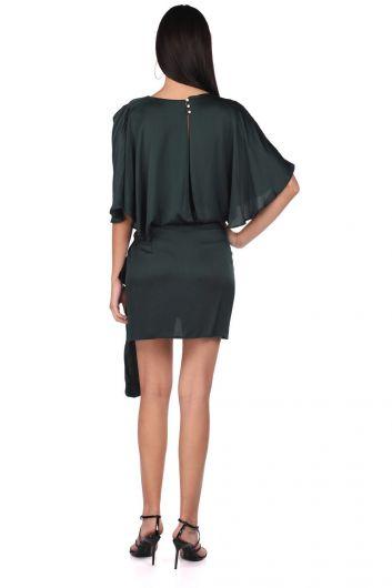 Markapia Satin Straight Dress - Thumbnail