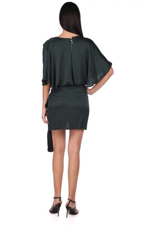 Markapia Satin Straight Dress